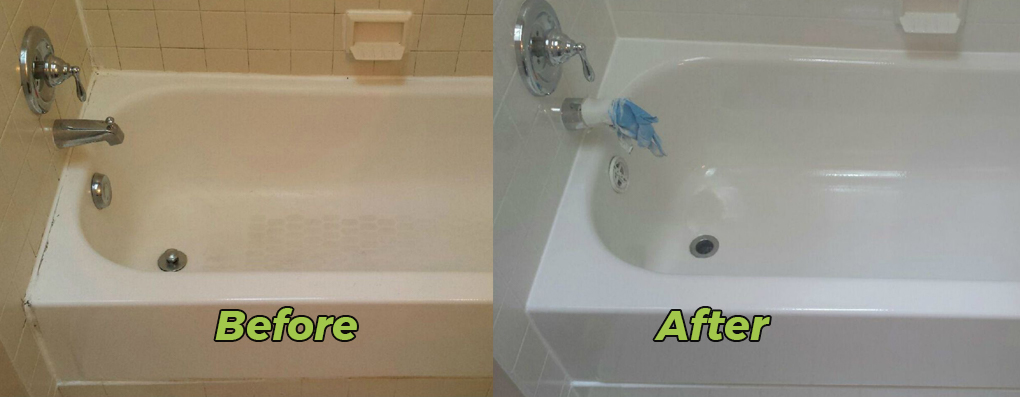 Another one of our services is bathroom (Bathtub Resurfacing)